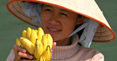 Venditrice di frutta in Vietnam
