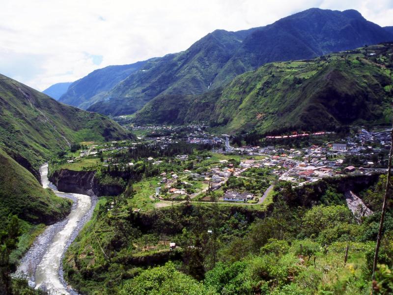 Baños de Agua Santa - Ecuador