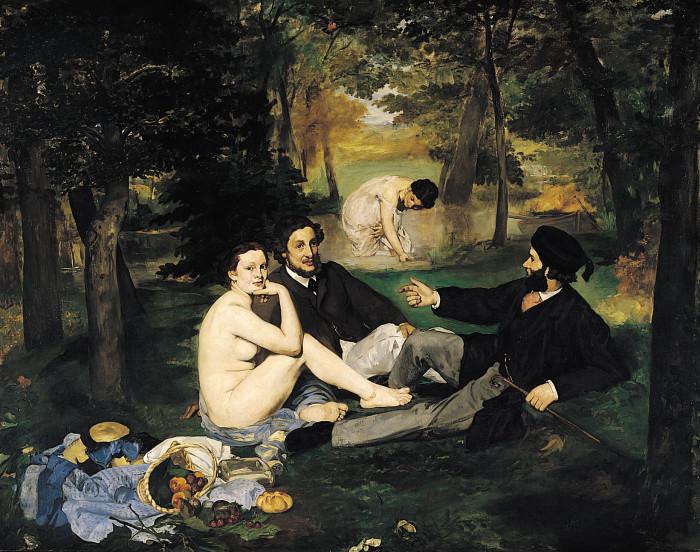 douard Manet -Le_Déjeuner sur l'herbe