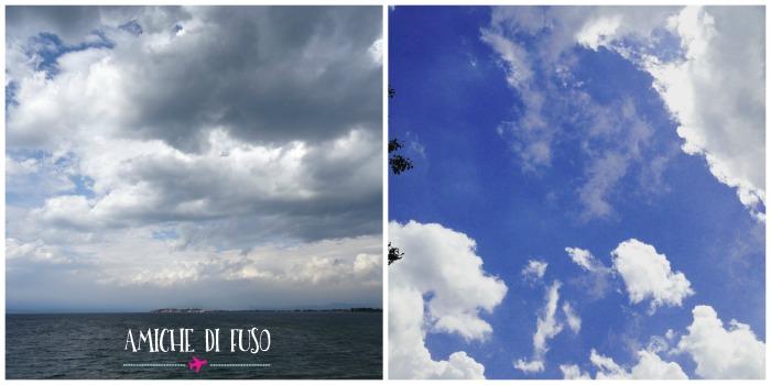 nuvole bianche o grigie lago di garda