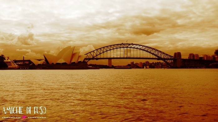 Opera House and Harbour Bridge