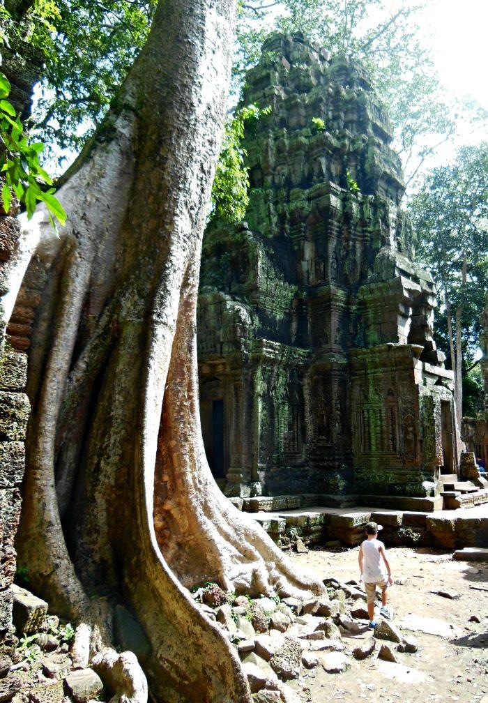 Un tempio vicino ad Angkor Wat