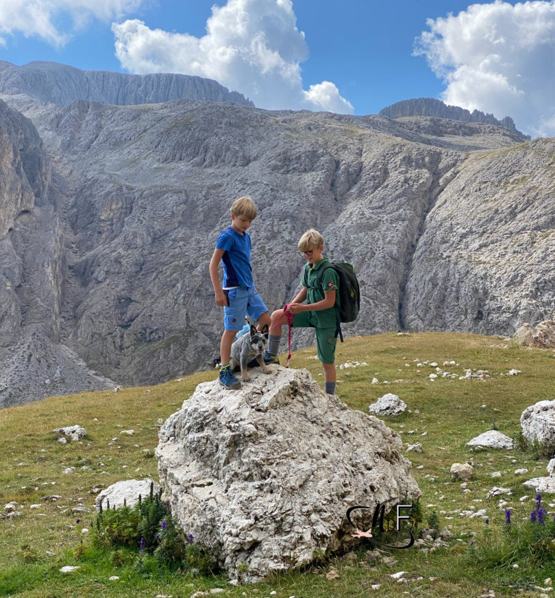 motivare i bambini in montagna