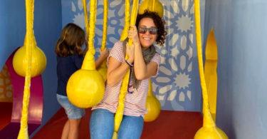 Michela Spugnini guida a Dubai